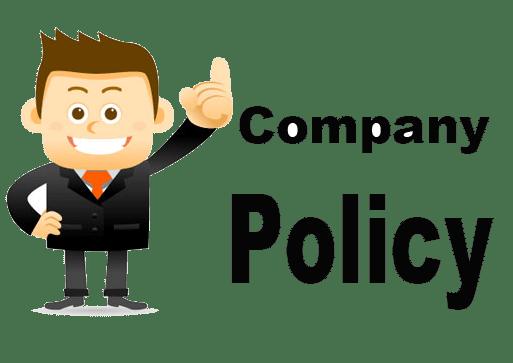 Why Do I Need Company Policy? – MoveBoard Documentation